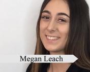 Apprentice Megan Leach