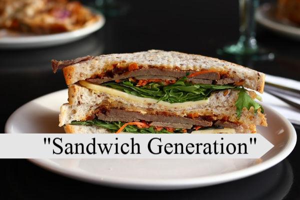 Sandwich Generation plate