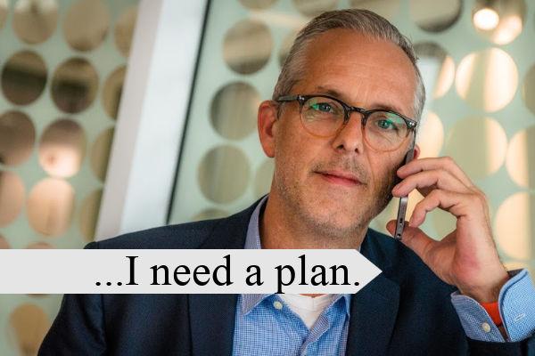 man wanting a Retirement Plan